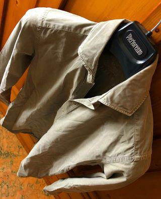 Polera Camisa Scalpers Color Kaki Talla 38 - S