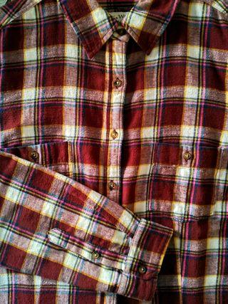 Camisa de franela a cuadros