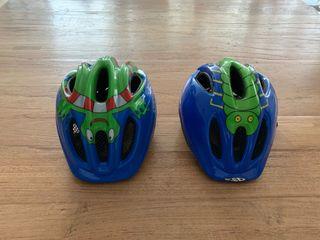 2 Cascos bici niño
