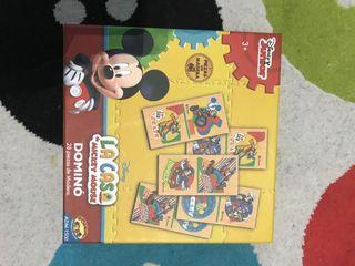 Dominó de madera Mickey Mouse