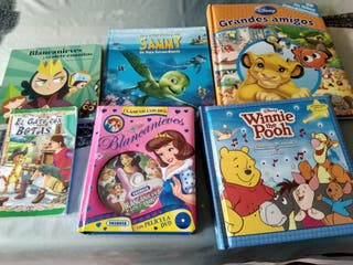 Lote 6 libros infantiles