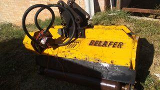 Desbrozadora trituradora Belafer Retroexcavadora