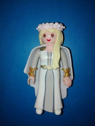 Playmobil mujer medieval vikinga valkiria vikingos