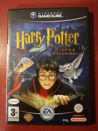 Harry Potter y la piedra filosofal Gamecube