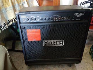 amplificado de bajo Fender Rumble 350