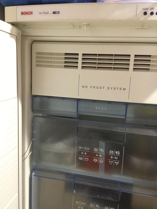 Congelador BOSCH 6 CAJONES