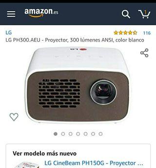 Mini proyector LG PH300 HD