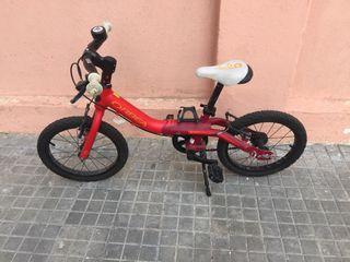 Bicicleta Orbea grow 1 (3 a 6 años)
