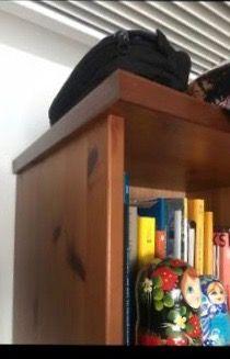 Mueble rústico de madera IKEA
