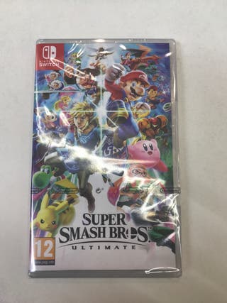 NUEVO PRECINTADO Super Smash Bros Ultimate Switch