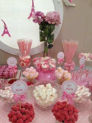mesa dulce/Candy bar/tarta