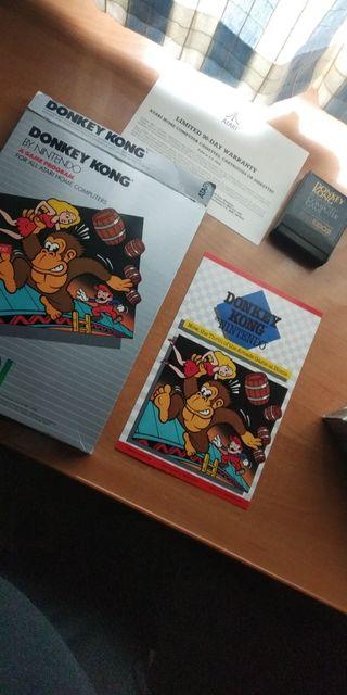Donkey Kong Atari rx8031 400 800 XL