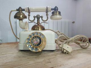 Teléfono estilo antiguo años 70