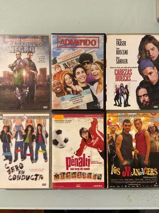 Pack 6 Películas Dvd