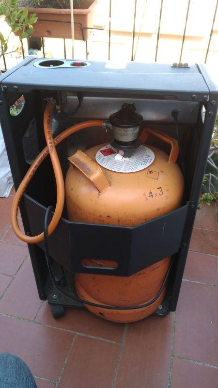 calefacción de gas