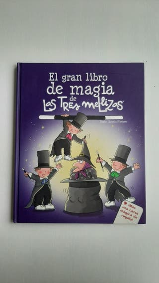 Libro El gran libro de magia de las tres mellizas