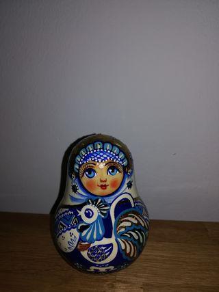 Matreska sonajero muñeca rusa