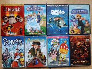 Peliculas DVD Disney, Fox, Filmax, Paramount