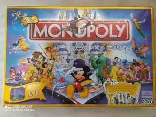 Monopoly edición Disney con castillo 3D
