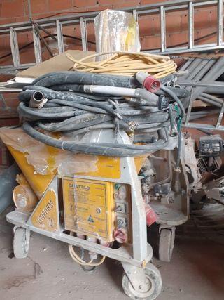 Máquina de proyectado monocapa