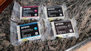 Tinta Epson T0711, T7012 y T7013