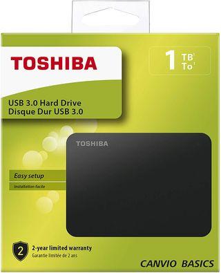 DISCO DURO EXTERNO 1TB TOSHIBA