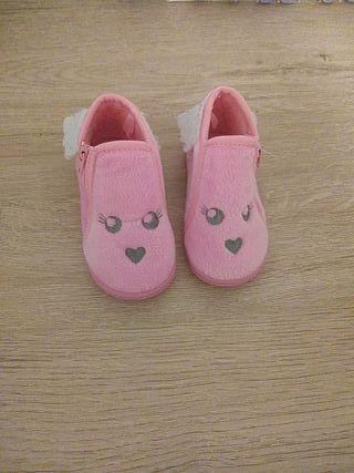zapatillas de casa niña número 21