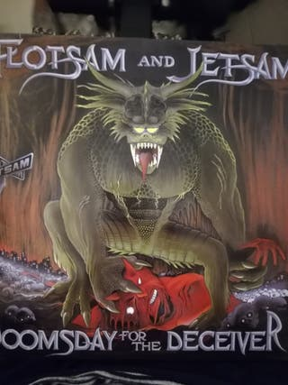 Disco vinilo Flotsam and Jetsam-Doom sday for the.