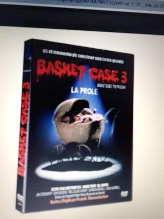 dvd.Basket case 3 nueva