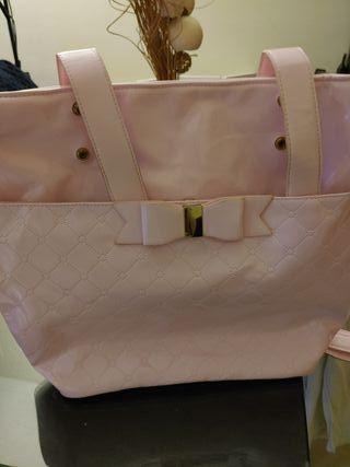 bolso panera bebé rosa mayoral