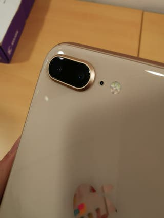 iPhone 8 plus 256 gb 15 meses garantía