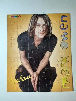 Puzzle Mark Owen revista Bravo