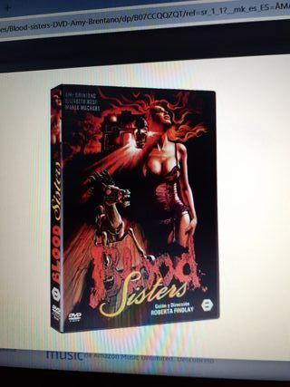 dvd.Blood Sisters nueva