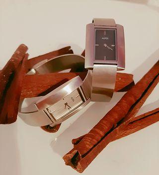 Reloj de pulsera suizo Alfex para mujer 5374