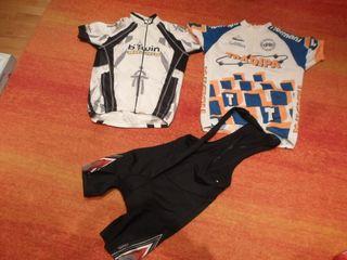 2 maillot y culotte bicicleta talla m