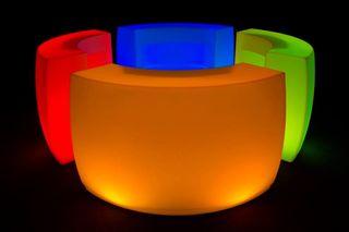 Barras de bar luminosas somos fabricantes