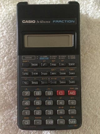 Calculadora científica CASIO fx-82 Super Fraction