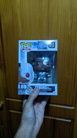 Figura Funko Pop Ciborg Justice League MotherBox