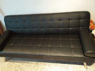 Sofá cama moderno y estilo vintage