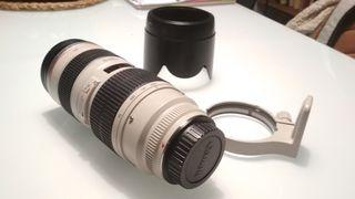Objetivo Canon 70-200 f2.8 Ultrasonic