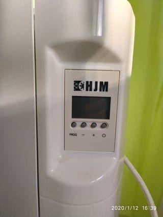 Emisor térmico con fluido. aceite