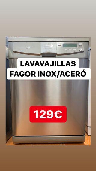 LAVAVAJILLAS FAGOR INOX. A+. GARANTIA. INSTALO