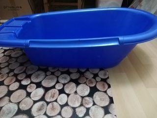 bañera plástico