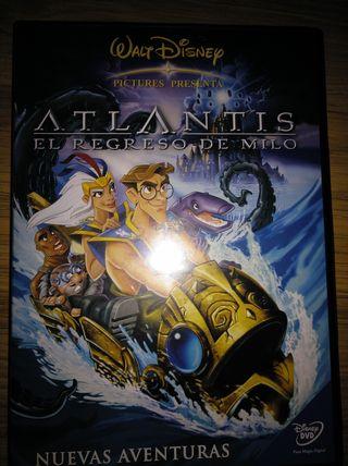 Peli Disney Atlantis el regreso de Milo