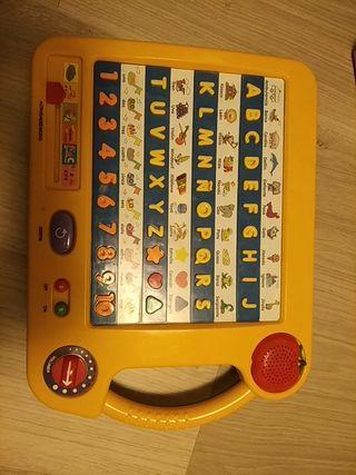 juego letras y números