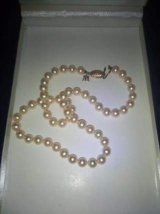 collar de perlas majorica