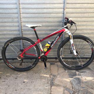 bicicleta de montaña specialized carve en perfecto