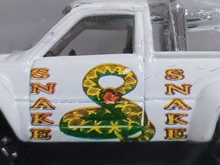 GUISVAL juguete antiguo 'Toyota Hilux SNAKE'