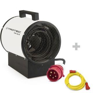 Calefactor eléctrico TDS 30 R + Cable alargador