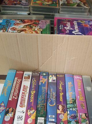 Películas de Disney VHS